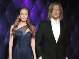 Madame Tussauds Orlando - Brad Pitt e Angelina Jolie
