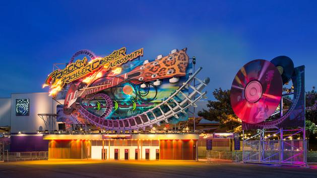 Rock 'n' Roller Coaster starring Aerosmith