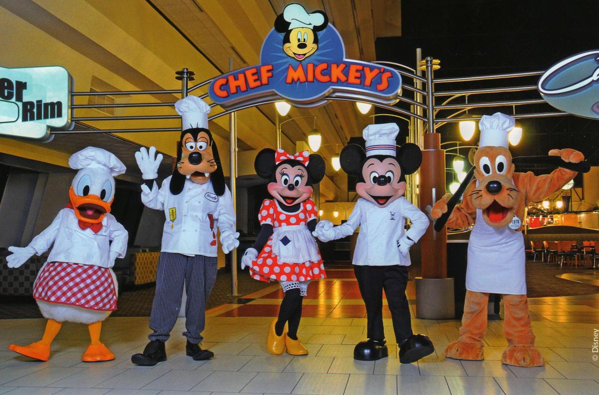 Alimentação na Disney