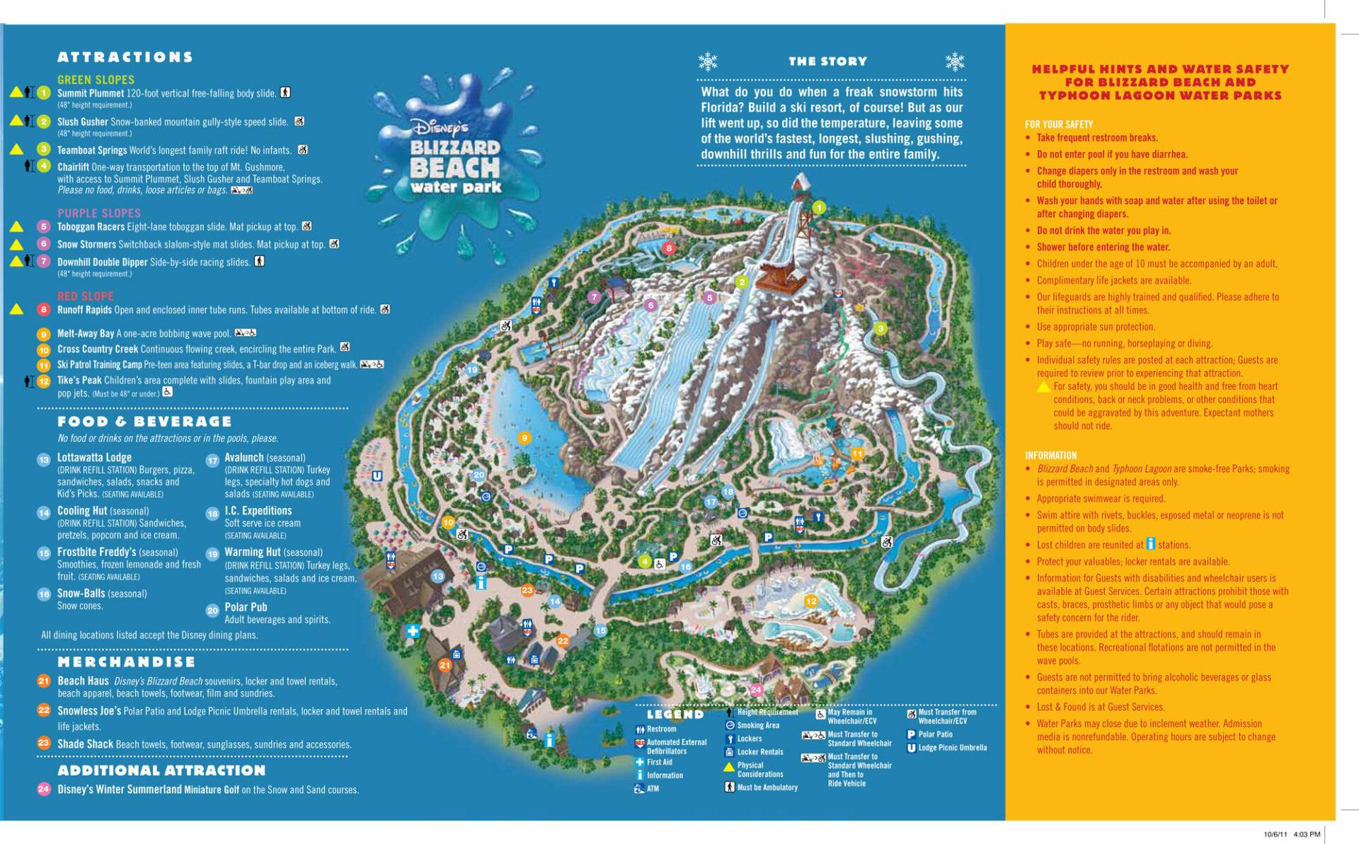 Mapas Dos Parques Da Disney Roteiro Em Orlando