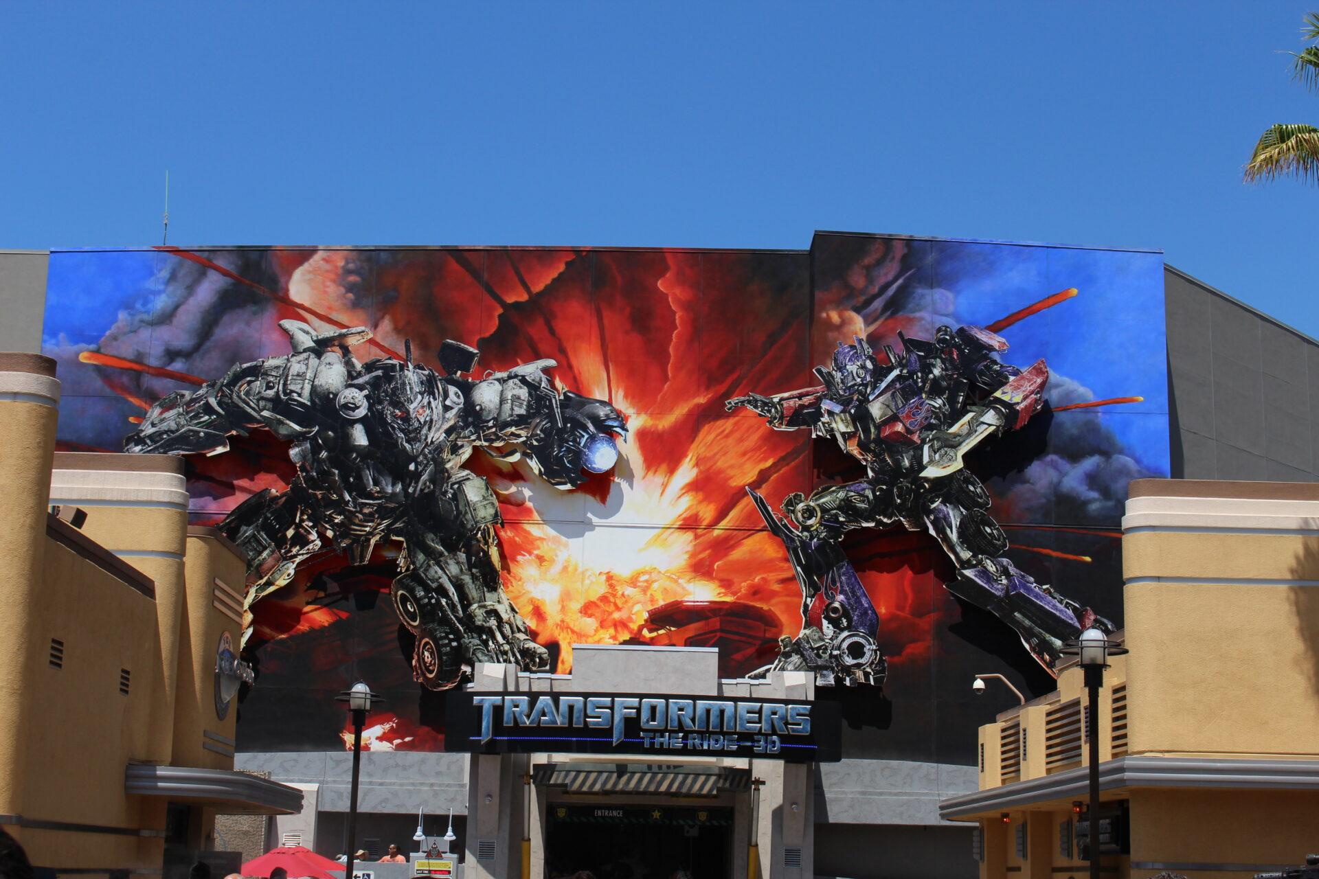 Universal Studios Hollywood - Transformers
