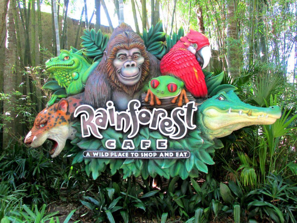 Rainforest Cafe - Animal Kingdom