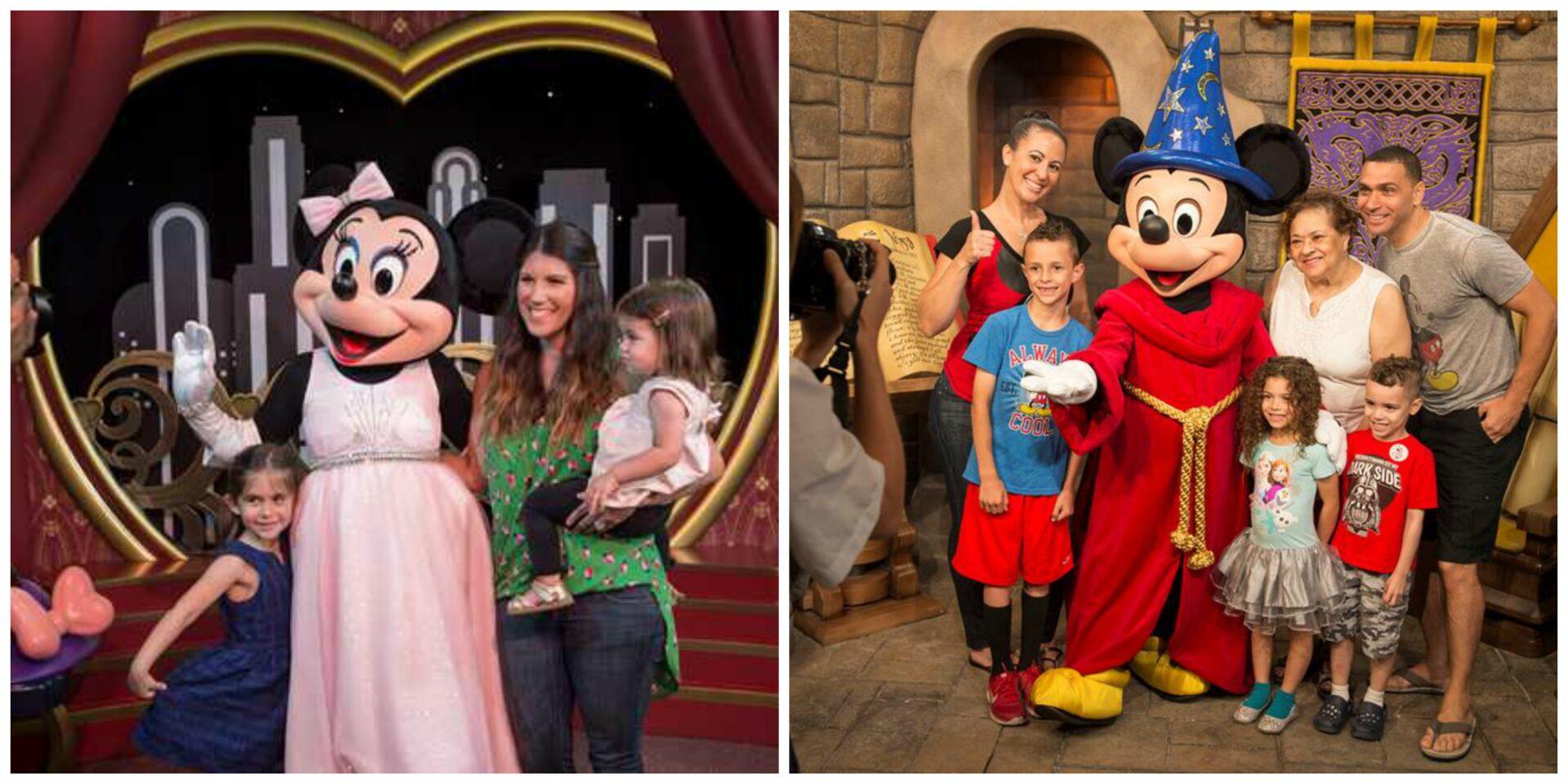 Olaf, Mickey e Minnie no Hollywood Studios