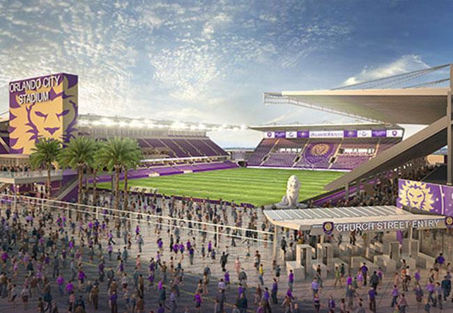 Orlando City Soccer New Stadium