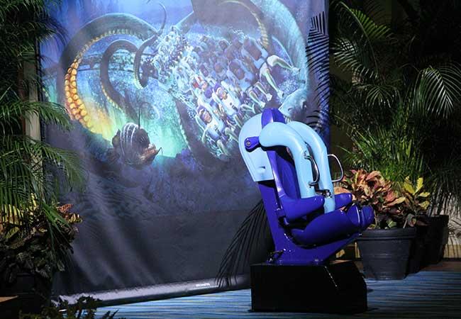 Sea World Kraken