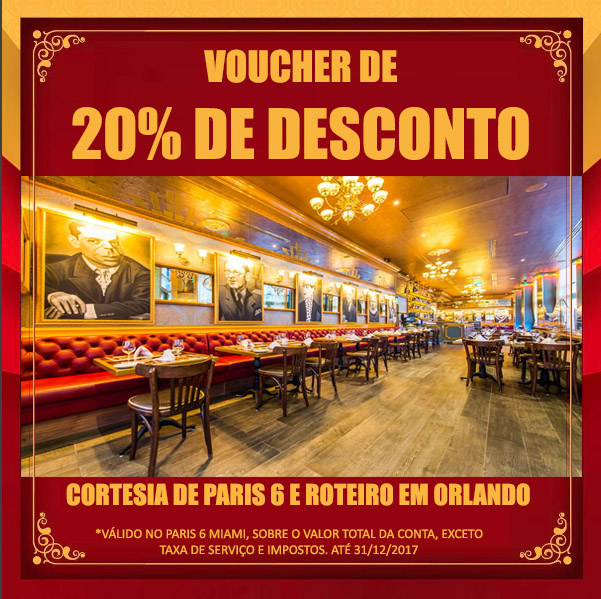 Voucher Paris 6 Miami